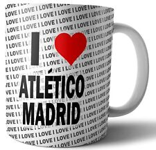 I Love Athletico Madrid Tea - Coffee - Mug - Cup - Birthday - Christmas - Gift