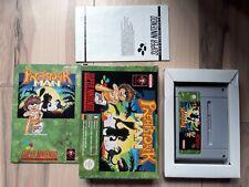 Prehistoric Man Super Nintendo SNES PAL Complete in box (CIB) Great Condition
