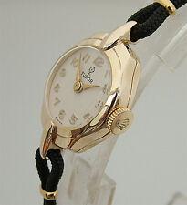 Rolex Tudor Ladies Solid Gold Vintage Watch 1960, Petite size, Serviced