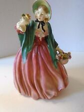 Royal Doulton Lady Charmian HN 1949 Made in England Ceramic Pink Dress