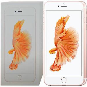 BNIB Apple iPhone 6s Plus A1687 16GB + 2GB Rose Gold Factory Unlocked 4G/LTE GSM