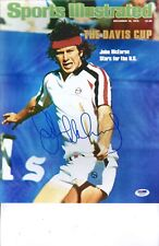 John McEnroe signed  11x14 photo PSA DNA COA