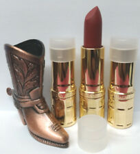 Lot of 3 Elizabeth Arden Ceramide Ultra Brick 02 .12oz Full Size tester Dark Red