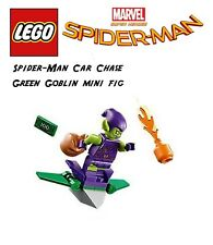 Lego Spider-Man: Car Chase Green Goblin and glider Minifig ONLY! 2019 Marvel
