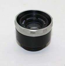 Wray London Supar 3 1/4 in (83mm) f/4.5 8-Blade Enlarging Lens + 32mm Screw FC