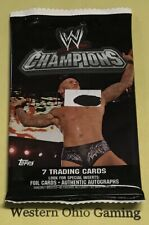 Topps WWE Champions Pack NEW Wrestling Collectible Trading Cards
