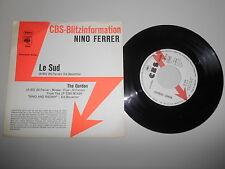 "7"" Pop Nino Ferrer - Le Sud / The Garden CBS Promo Blitz-Info"