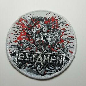 Testament  WOVEN PATCH