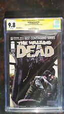 Walking Dead # 78 CGC Graded  9.8  WHITE  Pages SS2X Kirkman & Rathburn