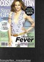 Cosmopolitan Ungarn / Hungary Hungarian Magazine 2013/04 Leighton Meester Cover