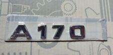 Mercedes-Benz Typenschild Typenzeichen Schriftzug A 170 A170 W168 A-Klasse