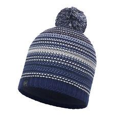 4572c0aa866 Buff Ski Neper Primaloft Knitted Beanie Bobble Hat Blue Ink
