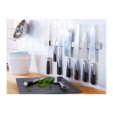 IKEA magnetic knife rack holder 40cm stainless steel cutlery tool hold New