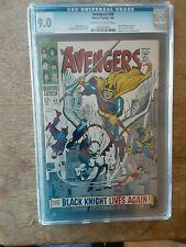 Avengers 48 CGC 9.0  1st Black Knight