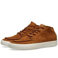 Nike SB Zoom Stefan Janoski Mid Crafted Tan Brown UK 7 US 8 Force 1 90 Skate OG