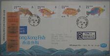 1981 Hong Kong Fish First Day Cover (Ex. Dr. Robert Yue)