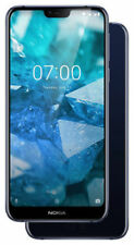 Nokia 7.1 - 32GB - Hochglanz-Mitternachtsblau (Ohne Simlock)