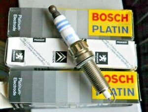 Three x Bosch ZR8TPP15 Spark Plugs - fit some Citroen C5 / Peugeot 406 models
