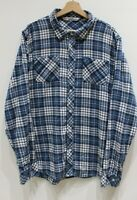 Travis Mathew Mens Long Sleeve Button Up Flannel Shirt Multicolor Plaid XL golf