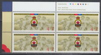 Canada #1926 47¢ The Royal Canadian Legion UL Plate Block MNH