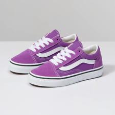 VANS KIDS Old Skool Dewberry/True White Size 10.5-4 Fast Shipping