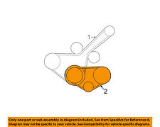 NISSAN OEM 95-06 Maxima-Serpentine Drive Fan Belt 119207Y000