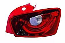 Seat Ibiza 2008-2012 5 Door Tail Light Outside Red White Corner Lamp RIGHT RH