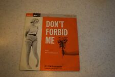 Ray Buckingham/Barry Frank-Don't Forbid Me/Young Love, Bell 23, PS, VG-