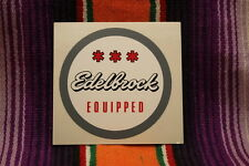 Edelbrock Equipped Round Decal Sticker Traditional Hotrod Rat Hot Rod Ford GM A