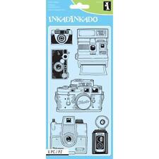 Inkadinkado Clear Stamps - Cameras #270 (60-31325)