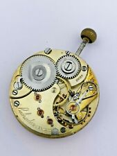 High Grade Early Omega Labrador Pocket Watch Movement for Repair (F72)