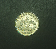 1923 Australian Threepence,