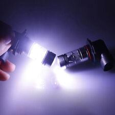 Pair 100W H11 H8 1000lm High Power 6000K White LED Fog Light Driving Bulbs Dossy