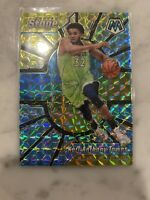 2019-20 Panini Mosaic, KARL-ANTHONY TOWNS, Center Stage Silver Mosaic Prizm, #11