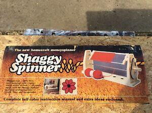 Vintage Retro Lenora Shaggy Spinner Machine - original box. Crafts Crafting