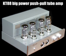 KT88 HIFI Stereo Push-pull Tube AMP Amplifier 6N8P Large Power 45W×2(RMS 8Ω)