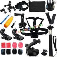 Head strap Mount Floating Monopod Combo Kit Accessories For GoPro 2 3+ 4 Sj4000