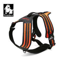 Truelove Hybrid dog harness walking + car adjustable, reflective padded dog vest