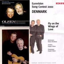 EUROVISION 2000 Danemark : Olsen brothers  CD + INFOS