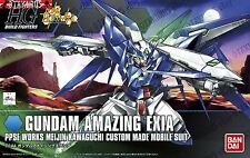 Gundam Amazing Exia  HGBF Try Build Fighters 1/144 Model Figure Bandai