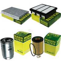 Mann-filter Set Air Interior Oil Fuel Hyundai i30 Cw Fd 2.0 Crdi