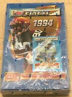 1994 TOPPS FINEST Football Series 1 NFL HOBBY BOX Trading Cards 24 Packs SEALED