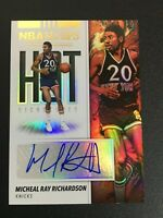 F66469  2019-20 Hoops Hot Signatures #25 Micheal Ray Richardson AUTO KNICKS