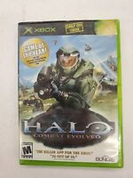 Halo: Combat Evolved (Microsoft Xbox, 2001) Original Halo 1 Video Game