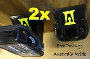 2x Ryobi 18v Battery Holder / Storage / Battery Mount - Innovation Australia
