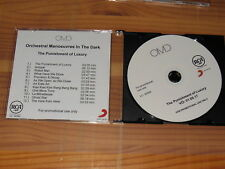 ORCHESTRAL MANOEUVRES... (OMD) - THE PUNISHMENT OF LUXURY / GERMANY-PROMO-CD