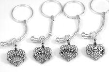 Sisters set Huge sale Four Sisters key chains set  Sisters gift 4 Sisters