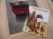 Boite de 100 pochettes de 6 images SPECTREMAN + Album vierge - RARE - No panini