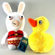 Peluche Lapins Crétins (Les) Lapin transformeur, canard Jemini