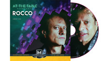 AT THE TABLE LIVE LECTURE ROCCO DVD Close Up Stage Sleeving Sleight of Hand Coin